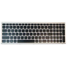 Klaviatūra IBM LENOVO Ideapad U510 Z710 (šviečianti)