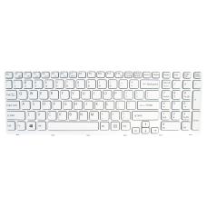 Klaviatūra SONY Vaio SVE151 (balta) US