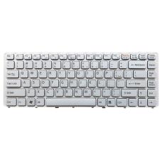 Klaviatūra SONY Vaio VGN-NW PCG-7181M PCG-7186M (balta) US