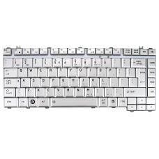 Klaviatūra TOSHIBA A200 A300 M200 M300 L200 L300 (sidabrinė, didelis ENTER) UK