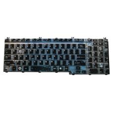 Klaviatūra TOSHIBA Satellite A500 A505 L350 L500 P200 P300 (blizgi, mažas ENTER) US