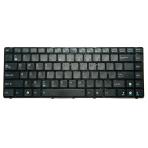 Klaviatūra ASUS UL30 A42 A43 K42 K43 B43 N43 X43 P43 N82 (mažas ENTER, klavišai su tarpais, su rėmeliu)