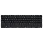 Klaviatūra HP COMPAQ 17-E000 (mažas ENTER, klavišai su tarpais, be rėmelio) US