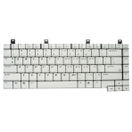 Klaviatūra HP COMPAQ NX9100 ZE2000 DV5000 ZV6000 C300 M2000 (mažas ENTER, balta) US