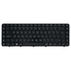 Klaviatūra HP COMPAQ Pavilion DV6-3000 DV6-4000 (didelis ENTER, klavišai su tarpais, su rėmeliu) UK