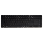 Klaviatūra HP COMPAQ Pavilion DV6-6000 DV6-6B DV6-6C (mažas ENTER, klavišai be tarpų, be rėmelio) US