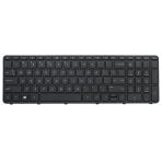 Klaviatūra HP COMPAQ Sleekbook 15-E000 15-G000 (mažas ENTER, klavišai su tarpais, su rėmeliu) US