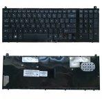 Klaviatūra HP Probook 4520 4520S 4525S 4525 US (juoda, su rėmeliu)
