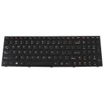 Klaviatūra IBM LENOVO IdeaPad B5400 M5400 (klavišai su tarpais, juodas rėmelis) US