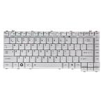 Klaviatūra TOSHIBA A200 A300 M200 M300 L200 L300 (sidabrinė, mažas ENTER) US