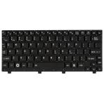 Klaviatūra TOSHIBA NB200 NB250 NB255 NB300 NB305 (mažas ENTER, klavišai su tarpais, be rėmelio) US