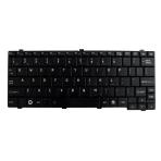 Klaviatūra TOSHIBA NB200 NB255 NB300 NB305 NB500 T110 (mažas ENTER, klasikinė) US