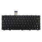 Klaviatūra TOSHIBA U400 U500 A600 M800 M900 (balta, didelis ENTER) UK