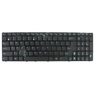 Klaviatūra ASUS UL50 K52 A52 G51 G72 X52 F70 N70 (mažas ENTER, klavišai su tarpais, su rėmeliu) US