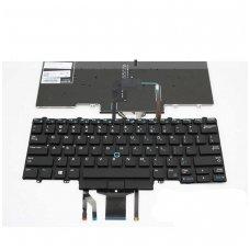 Klaviatūra DELL Latitude 7480 5488 7490 5480 5490 E7480 E7490 (juoda, šviečianti) US