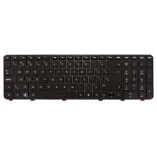 Klaviatūra HP COMPAQ Pavilion DV6-6000 DV6-6B DV6-6C (didelis ENTER, klavišai su tarpais, su rėmeliu) UK