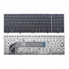 Klaviatūra HP COMPAQ Probook 4540S 4740S (sidabrinis rėmelis)