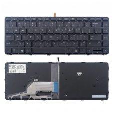 Klaviatūra HP Probook 430 G3 440 G3 445 G3 US (šviečianti)