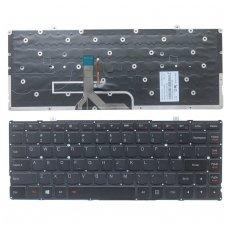 Klaviatūra Lenovo Yoga 2 Pro 13 25212817 25212818 25212848 25212849 (US, juoda, šviečianti)