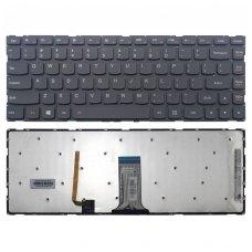 Klaviatūra Lenovo Yoga 500-14IBD 500-14IHW (šviečianti) US