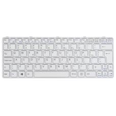 Klaviatūra SONY Vaio SVE11 (balta, didelis ENTER)