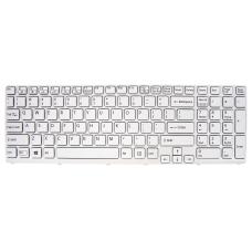 Klaviatūra SONY Vaio SVE151 (balta, šviečianti) US