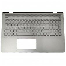 Klaviatūra su korpusu (palmrest) HP Pavilion 15-CD 928507-031 šviečianti US
