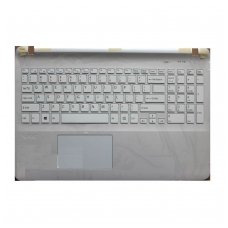 Klaviatūra su korpusu (palmrest) SONY VAIO SVF152A29M SVF152A29U (su rėmeliu ir jutikline pele (touchpad)) US