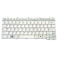 Klaviatūra TOSHIBA U400 U500 A600 M800 M900 (balta, mažas ENTER) US