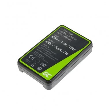 Kroviklis GC BC-QZ1 skirtas Sony NP-FZ100, Alpha A7 III A7R III A9 A9R A9S ILCE-7M3 7RM3 5W 8.4V 0.6A 2