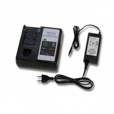 Kroviklis elektriniam įrankiui Panasonic Ni-CD, NI-MH, Li-Ion, 7.2 V - 24 V