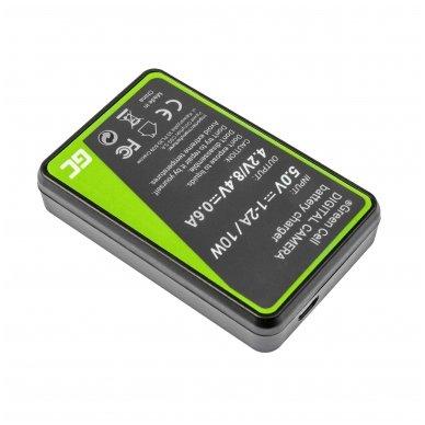 Maitinimo adapteris (kroviklis) GC BC-TRX skirtas Sony Action Cam HDR-AS10 HDR-AS20 HDR-AS300 HDR-AS50 FDR-X1000V DSC-H400 0.6A 4.8V 2.5W 2
