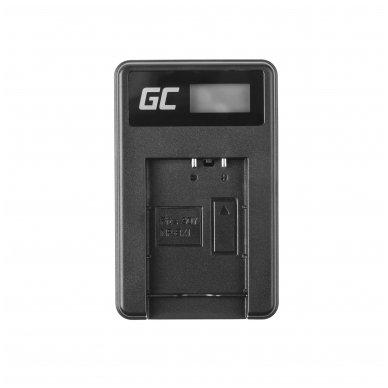 Maitinimo adapteris (kroviklis) GC BC-TRX skirtas Sony Action Cam HDR-AS10 HDR-AS20 HDR-AS300 HDR-AS50 FDR-X1000V DSC-H400 0.6A 4.8V 2.5W 3