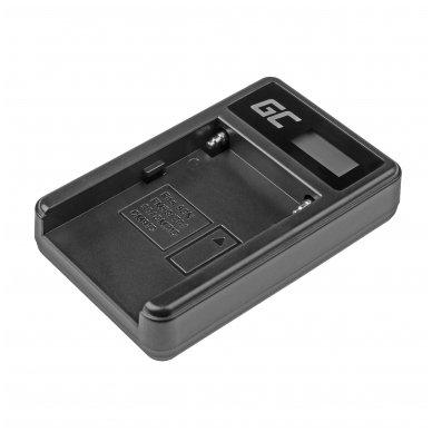 Maitinimo adapteris (kroviklis) GC BC-V615 | AC-VL1 skirtas Sony A58, A57, A65, A77, A99, A900, A700, A580, A56, A55,0 A850, SLT A99 II 0.6A 8.4V 5W