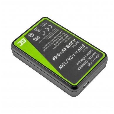 Maitinimo adapteris (kroviklis) GC BC-V615   AC-VL1 skirtas Sony A58, A57, A65, A77, A99, A900, A700, A580, A56, A55,0 A850, SLT A99 II 0.6A 8.4V 5W 2