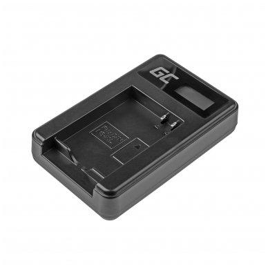 Maitinimo adapteris (kroviklis) GC CB-2LCE skirtas Canon NB-10L PowerShot G15, G16, G1X, G3X, SX40 HS, SX40HS, SX50 HS, SX60 HS 0.6A 8.4V 5W