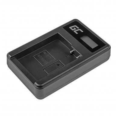 Maitinimo adapteris (kroviklis) GC DE-A79B skirtas Panasonic FZ2000, G81, FZ1000, FZ300, G6M, GX8M, G70M, G70KA, GX8EG-K, GX8, G70 0.6A 8.4V 5W