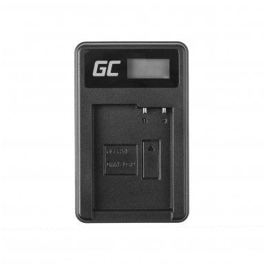 Maitinimo adapteris (kroviklis) GC DE-A79B skirtas Panasonic FZ2000, G81, FZ1000, FZ300, G6M, GX8M, G70M, G70KA, GX8EG-K, GX8, G70 0.6A 8.4V 5W 3