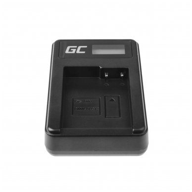 Maitinimo adapteris (kroviklis) GC DE-A79B skirtas Panasonic FZ2000, G81, FZ1000, FZ300, G6M, GX8M, G70M, G70KA, GX8EG-K, GX8, G70 0.6A 8.4V 5W 4