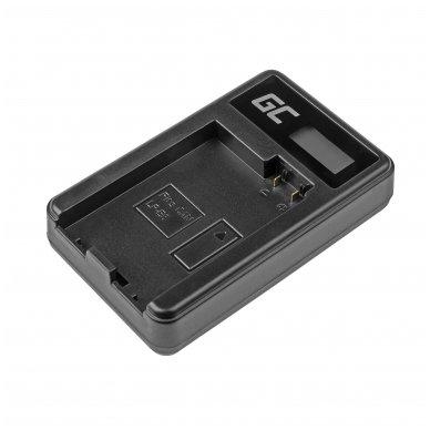 Maitinimo adapteris (kroviklis) GC LC-E8 skirtas Canon LP-E8 EOS Rebel T2i, T3i, T4i, T5i, EOS 600D, 550D, 650D, 700D, Kiss X5, X4, X6 0.6A 4.8V 2.5W