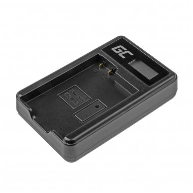 Maitinimo adapteris (kroviklis) GC MH-25 skirtas Nikon EN-EL15 D850 D810 D800 D750 D7500 D7200 D7100 D610 D600 0.6A 8.4V 5W