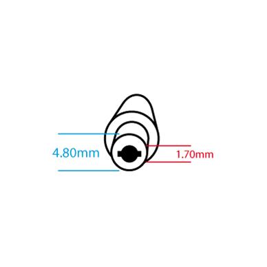 Maitinimo adapteris (kroviklis) HP COMPAQ 65W - 19.5V/3.33A (4.8*1.7mm) 2