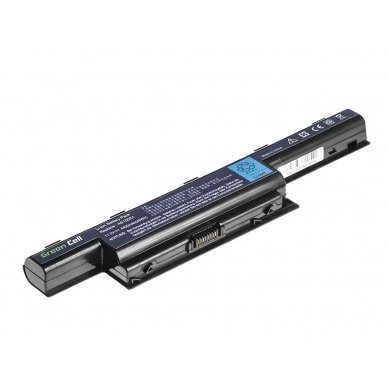 Baterija (akumuliatorius) GC Acer Aspire 5733 5741 5742 5742G 5750G E1-571 TravelMate 5740 5742 11.1V (10.8V) 4400mAh 3