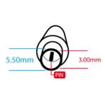 Maitinimo kabelis SAMSUNG (5.5*3.0mm)