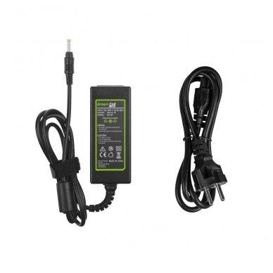 Maitinimo adapteris (kroviklis) GC PRO kompiuteriui HP Mini 110 210 Compaq Mini CQ10 19V 2.1A 40W 4.0-1.7mm 2