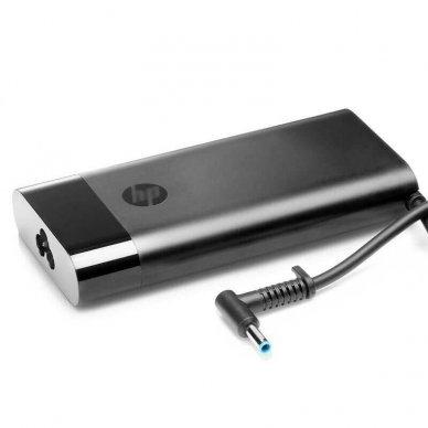 Maitinimo adapteris (kroviklis) kompiuteriui HP Omen 15-5000 17-W HP Envy 15-J 17-J 19.5V 7.7A 150W 4.5-3.0mm 917649-850 917677-003 slim (originalus)