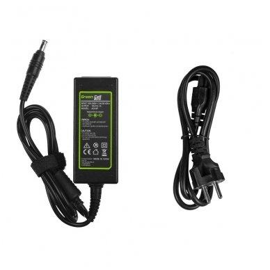 Maitinimo adapteris (kroviklis) GC PRO kompiuteriui Samsung N100 N130 N145 N148 N150 NC10 NC110 N150 Plus 19V 2.1A 40W 5.5-3.0mm 2