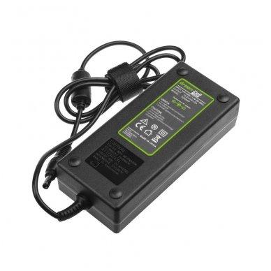 Maitinimo adapteris (kroviklis) GC PRO Lenovo IdeaPad Y510p Y550p Y560 Y570 Y580 Z500 Z570 MSI GE60 GE70 GP 19.5V 6.15A 120W 5.5-2.5mm