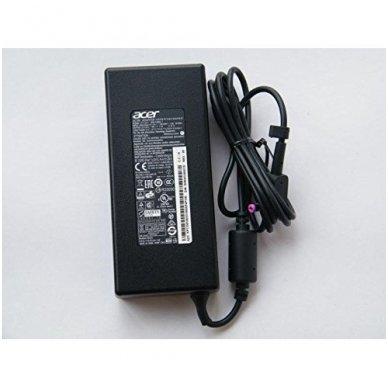 Maitinimo adapteris (kroviklis) kompiuteriui Acer Aspire Nitro Predator Helios Veriton  KP.13503.007 135W 19V 7.1A 5.5mm x 1.7mm (originalus)