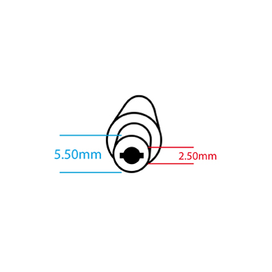 Maitinimo kabelis ASUS TOSHIBA IBM LENOVO (5.5*2.5mm) 2
